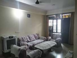 Furnished flat with gud space available for family and working bachlor