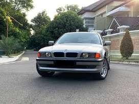 BMW E38 730iL LWB 3.0 V8 Th 1996 Km21rb Silver