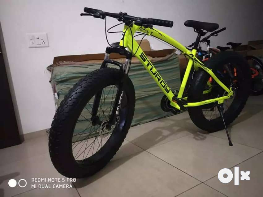 Sturdy 21 GEAR FAT TYRE NEW MODEL CYCLE AVAILABLE