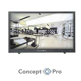 """22"""" LED Backlit HD Monitor with Metal Casing"""