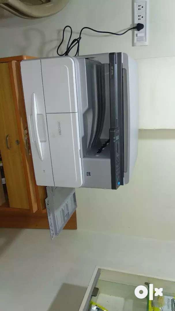 Ricoh Xerox machine 0