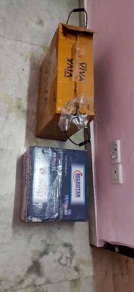 Microtek Inverter and OKAYA battrey