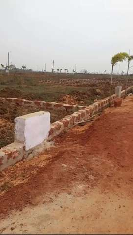Plot available in chandaka and Andharua mouja