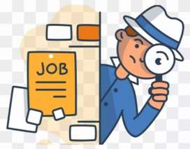 Ad cliking posting or call center job male female staff required