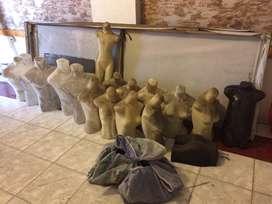 Borongan Patung Mannequin Badan Plastik Pajangan Usaha Butik Pakaian