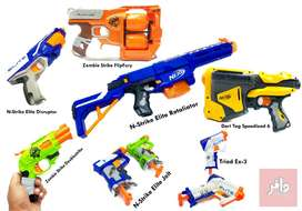 Nerf Guns (Different Models Available)
