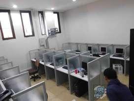 Cubicle Workstation Tele marketing ( Furniture Semarang )