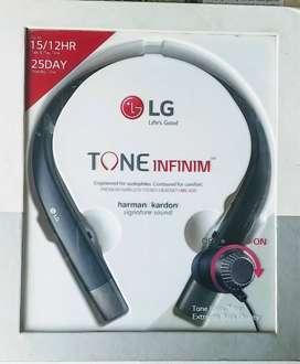 LG Tone Infinium Bluetooth Headset