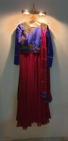 Ball gown + lehanga