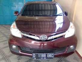 Xenia R 2012 1.3cc Mulus 100% + TV, Bluetooth + GVS