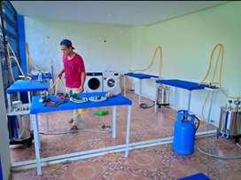 Setrika Uap Gas - Mesin Pengering Laundry Bisa Kirim&Pasang Bayar COD
