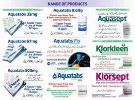 Water purification tablets Aquatabs Pakistan