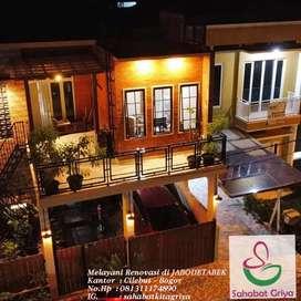 Jasa Renovasi & Bangun Rumah Baru Dengan Design Modern Berkualitas