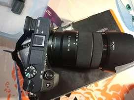Sony A6300 + Sony lens 18-135mm Garansi Aktif