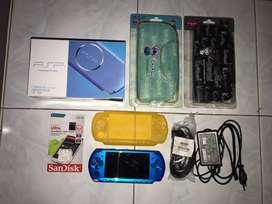 2 Unit Playstation Portable PSP Sony Slim 3006 Full Games 64 GB