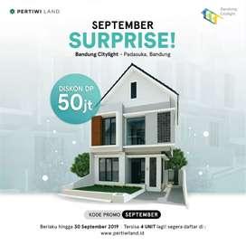 viral rumah dipadasuka 2 lantai  konsep villa smarthome,sisa  3 lagi