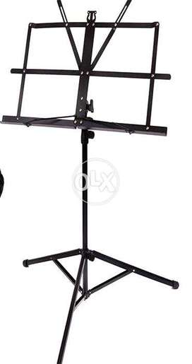 Brand New Music Stage Stand Sheet Book Holder Adjustable Height Tripod