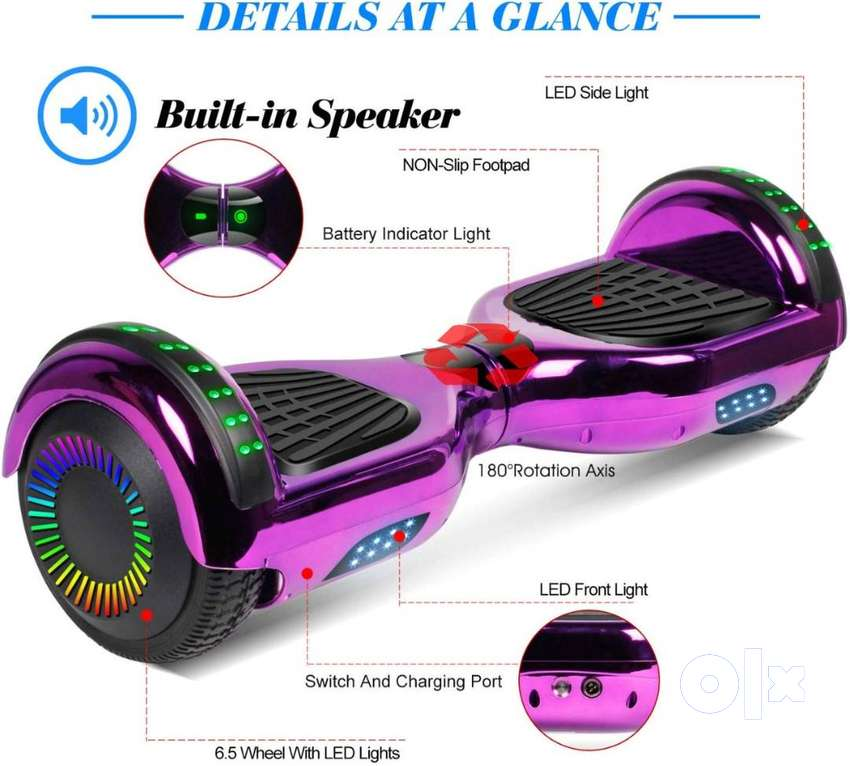 Segway, Electric Skateboard, Hoverboard, Self Balancing Scooter 0