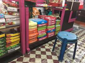 Readymade garmets Shop interior for sale