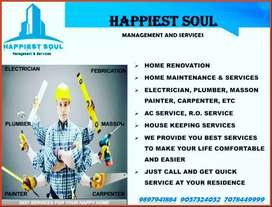 """We are hiring for"" Home maintenance services & construction"