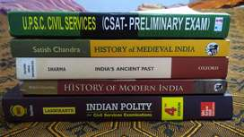 Perfect and untouched UPSC Prelims books