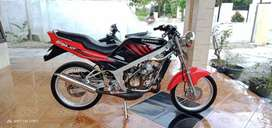Kawasaki ninja tahun 2009. Tinggal gas.
