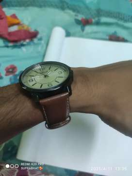 Timax wach ( TIMEX HELIX) with  leather strap