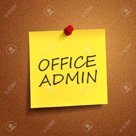 Ofc Admin/Receptionist(Male&Female)@Kozhikod,Kannur,Malappuram,Thrisur