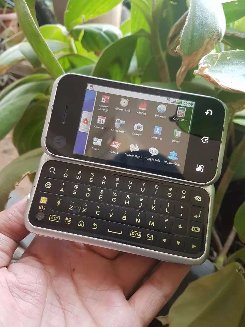 Motorola MB300 /Blur Android pertama For motorola (normal) 0