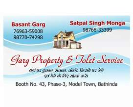 Residental or commercial all type rental all loction bathinda