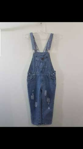 Overall Jeans Size S