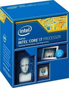 Gaming CPU i7 4770 procesor + 8 gb ram