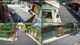 PAKET CCTV 2 KAMERA, 4 KAMERA DAHUA, HIKVISION