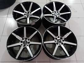 Velg mobil second ring 17 lebar 8/9 pcd 4x100/ 114, 3