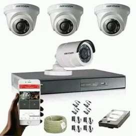Camera CCTV Pantau Via HP Dan Monitor