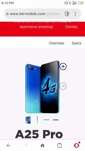 Itel a25 pro just 2 days use only 2 ram 32 rom