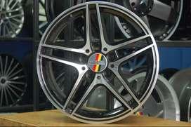 Promo Velg Mobil HSR Wheel Racing R15, R16, R17 LENGKAP