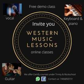 Cheapest Online Western Music Lesson