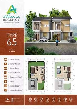 Rumah Mewah 2 Lantai Lahan lebih Luas