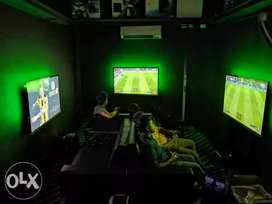 Fully Set Gaming Centre for sale