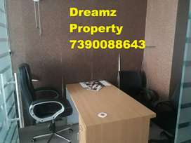 Furnished newly built office space in Indira Nagar Lucknow