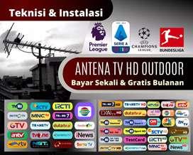 Antena TV hd / digital & pasang