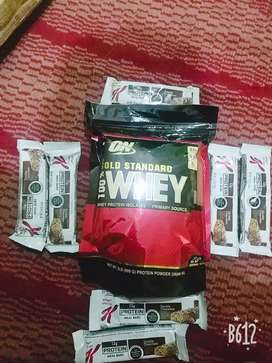 WHEY PROTEIN with Chocolate Bar