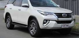 Fortuner 2021 toyota delivery 0 meter, white
