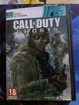 CALL OF DUTY GHOSTS 6 DVDs pc game