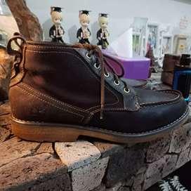 Timberlan semi boot kulit mix