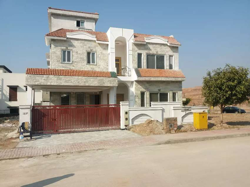 Guy12marla brand new house for sale bahria town overseas6 ph8 0