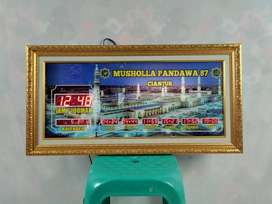 Dijual Jam Digital Baru Type Smart Pelengkap Masjid Kota Cimahi