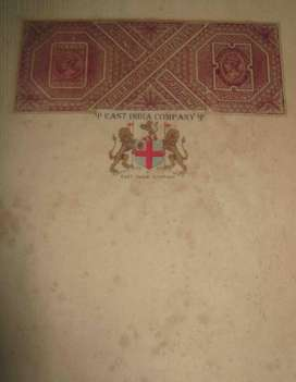 I want to sell British East India Company Stamp Paper