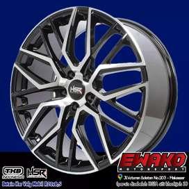 HSRwheel Velg Mobil Racing Ring.20 Lubang.5 pcd.114,3